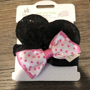 Disney Baby Girl Minnie Mouse Ears Head wrap